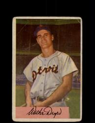 1954 WALT DROPO BOWMAN #7 TIGERS *R2046