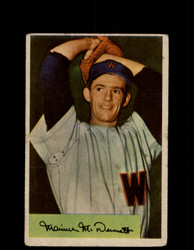 1954 MAURY MCDERMOTT BOWMAN #56 SENATORS *R2063