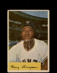 1954 HENRY THOMPSON BOWMAN #217 GIANTS *R2148