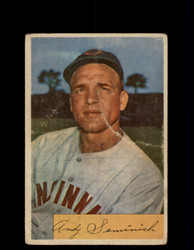 1954 ANDY SEMINICK BOWMAN #172 REDLEGS *G3997