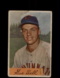 1954 GUS BELL BOWMAN #124 REDLEGS *3994