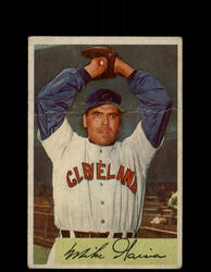 1954 MIKE GARCIA BOWMAN #100 INDIANS *G3999