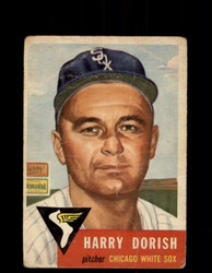 1953 HARRY DORISH TOPPS #145 WHITE SOX *G4065