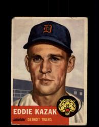 1953 EDDIE KAZAK TOPPS #194 TIGERS *R2166