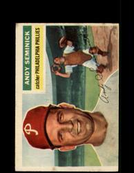 1956 ANDY SEMINICK TOPPS #296 PHILLIES *G4511