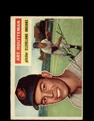1956 ART HOUTTEMAN TOPPS #281 INDIANS *G4517