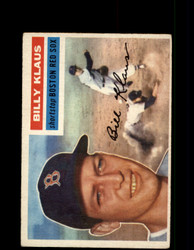 1956 BILLY KLAUS TOPPS #217 RED SOX *G4538