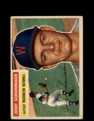 1956 JERRY SCHOONMAKER TOPPS #216 NATIONALS *G4539