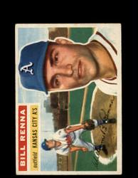 1956 BILL RENNA TOPPS #82 ATHLETICS *G4599
