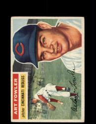 1956 ART FOWLER TOPPS #47 REDLEGS *G4617