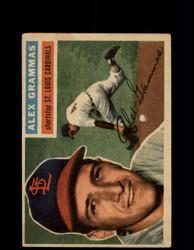 1956 ALEX GRAMMAS TOPPS #37 CARDINALS *G4623