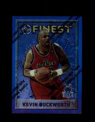 1995 KEVIN DUCKWORTH FINEST #23 REFRACTOR BUCKS *G6011