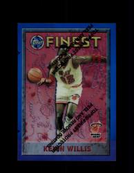 1995 KEVIN WILLIS FINEST #44 REFRACTOR HEAT *7749