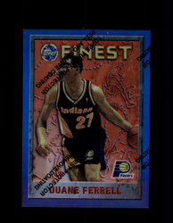 1995 DUANE FERRELL FINEST #61 REFRACTOR PACERS *5727