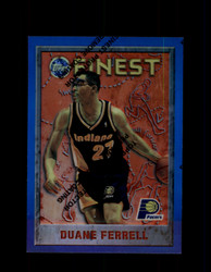 1995 DUANE FERRELL FINEST #61 REFRACTOR PACERS *9656