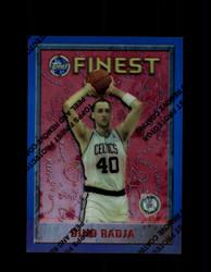 1995 DINO RADJA FINEST #65 REFRACTOR CELTICS *3713