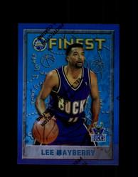 1995 LEE MAYBERRY FINEST #66 REFRACTOR BUCKS *9698