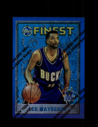 1995 LEE MAYBERRY FINEST #66 REFRACTOR BUCKS *9735