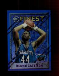 1995 KENNY GATTISON FINEST #67 REFRACTOR GRIZZLIES *2156