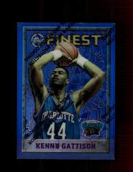 1995 KENNY GATTISON FINEST #67 REFRACTOR GRIZZLIES *R5082