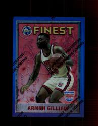 1995 ARMON GILLIAM FINEST #71 REFRACTOR NETS *2160