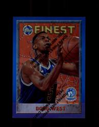 1995 DOUG WEST FINEST #84 REFRACTOR TIMBERWOLVES *G6725
