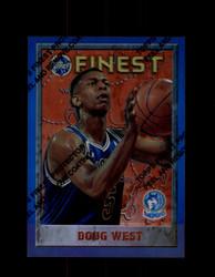 1995 DOUG WEST FINEST #84 REFRACTOR TIMBERWOLVES *G2659