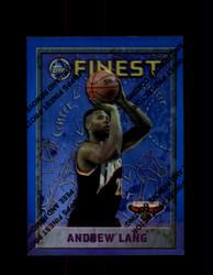 1995 ANDREW LANG FINEST #88 REFRACTOR HAWKS *G2746