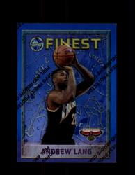 1995 ANDREW LANG FINEST #88 REFRACTOR HAWKS *G2752