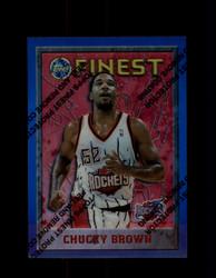 1995 CHUCKY BROWN FINEST #141 REFRACTOR ROCKETS *3190