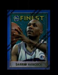 1995 DARRIN HANCOCK FINEST #157 REFRACTOR HORNETS *R5753