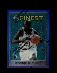 1995 GEORGE MCCLOUD FINEST #201 REFRACTOR MAVERICKS *G3976