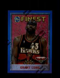 1995 GRANT LONG FINEST #244 REFRACTOR HAWKS *G3980