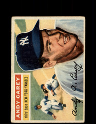 1956 ANDY CAREY TOPPS #12 YANKEES *G4694