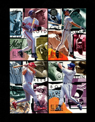 1995 FLEER ULTRA BASEBALL ALL ROOKIE COMPLETE 10 CARD SET