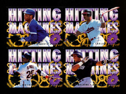 1994 FLEER ULTRA HITTING MACHINES BASEBALL COMPLETE 10 CARD SET
