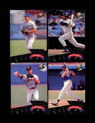 1992 FLEER ULTRA ALL ROOKIE COMPLETE 10 CARD SET