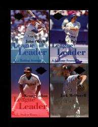 1994 FLEER ULTRA LEAGUE LEADER COMPLETE 10 CARD SET