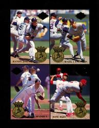1994 FLEER ULTRA STRIKEOUT KING COMPLETE 5 CARD SET