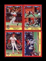 1988 FLEER WORLD SERIES COMPLETE 12 CARD SET