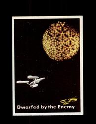 1976 STAR TREK TOPPS #24 DWARFED BY THE ENEMY *9951