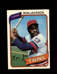 1980 RON JACKSON OPC #5 O-PEE-CHEE TWINS *G4756