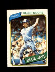 1980 BALOR MOORE OPC #6 O-PEE-CHEE BLUE JAYS *G4757