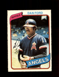 1980 DAN FORD OPC #7 O-PEE-CHEE ANGELS *G4758