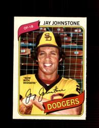 1980 JAY JOHNSTONE OPC #15 O-PEE-CHEE DODGERS *G4764