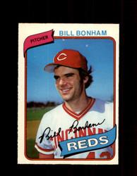 1980 BILL BONHAM OPC #26 O-PEE-CHEE REDS *G4770
