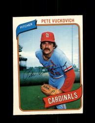 1980 PETE VUCKOVICH OPC #31 O-PEE-CHEE CARDINALS *G4774