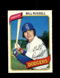 1980 BILL RUSSELL OPC #40 O-PEE-CHEE DODGERS *G4778