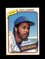 1980 CECIL COOPER OPC #52 O-PEE-CHEE BREWERS *G4783