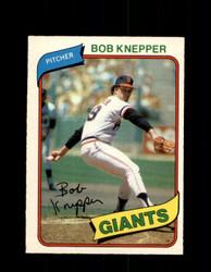 1980 BOB KNEPPER OPC #61 O-PEE-CHEE GIANTS *G4788